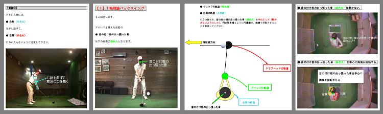 1軸左肩打法の基礎
