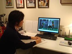 吉本巧コーチが直接レッスンフィードバックを送信